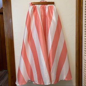 New eShatki Vertical Striped Maxi Skirt 16